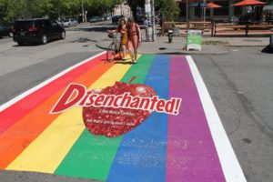 Disenchanted! - Capitol Hill Rainbow Crosswalk - Princess Takeover by Fiely Matias